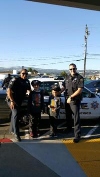 Sunshine Garden Sponsor of the Month: Thank you South San Francisco Police  Department!